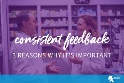 consistent feedback