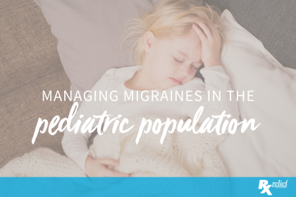 migraine pediatric population