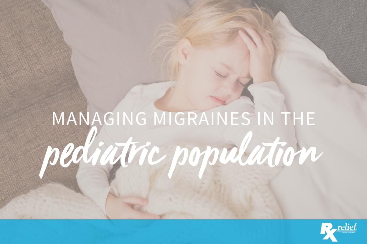 migraine pediatric population