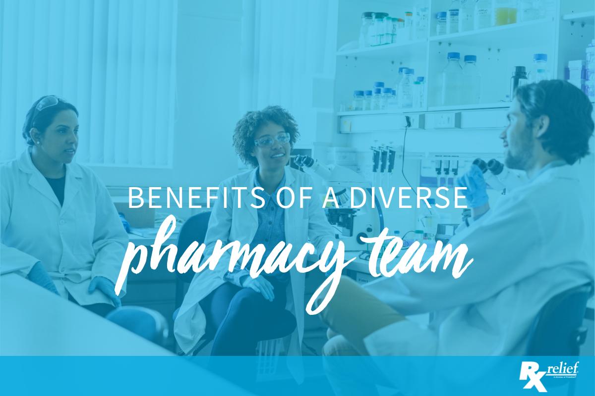 diverse pharmacy team